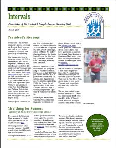 Newsletter Spring 2016