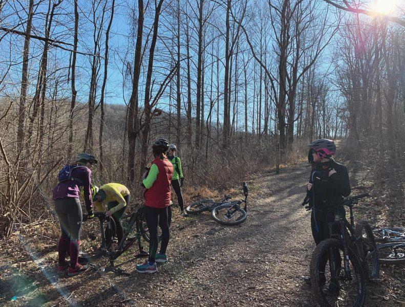 Trail biking in Boyds, MD